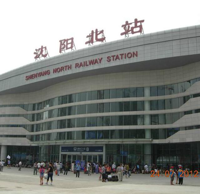 沈阳北站地下停车场